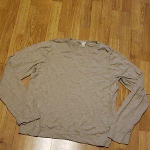 J Crew XXL oatmeal lightweight cotton sweater